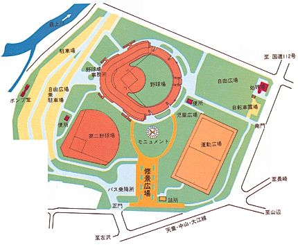 中山公園マップ